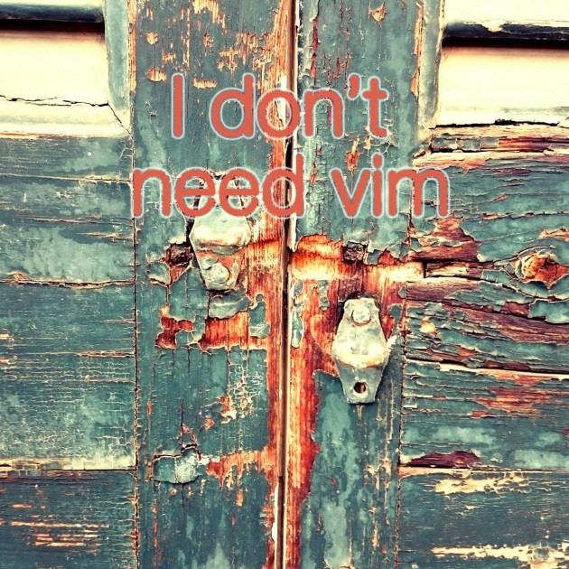 remove_vim_top_thumb